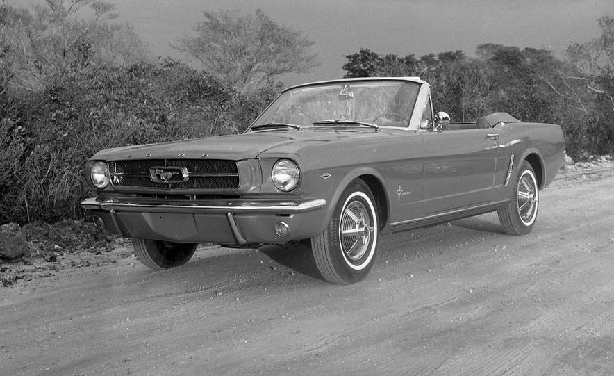 1964-1/2 Ford Mustang convertible - Slide 1