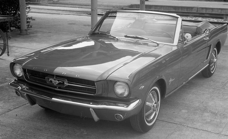 1964-1/2 Ford Mustang convertible - Slide 2