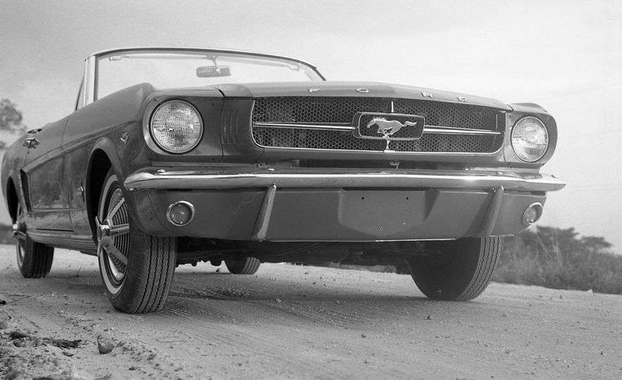 1964-1/2 Ford Mustang convertible - Slide 3
