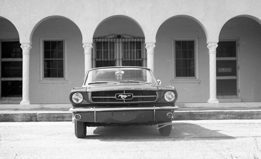 1964-1/2 Ford Mustang convertible - Slide 5