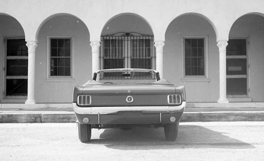 1964-1/2 Ford Mustang convertible - Slide 6