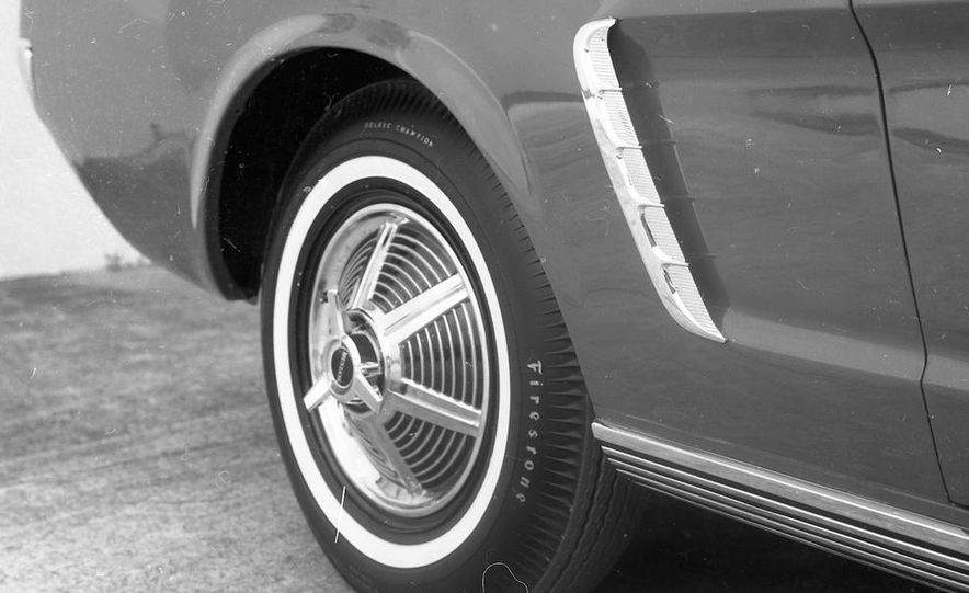 1964-1/2 Ford Mustang convertible - Slide 12