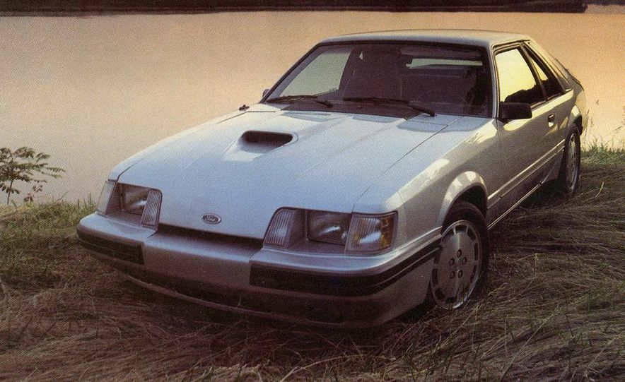 1984 Ford Mustang SVO - Slide 1
