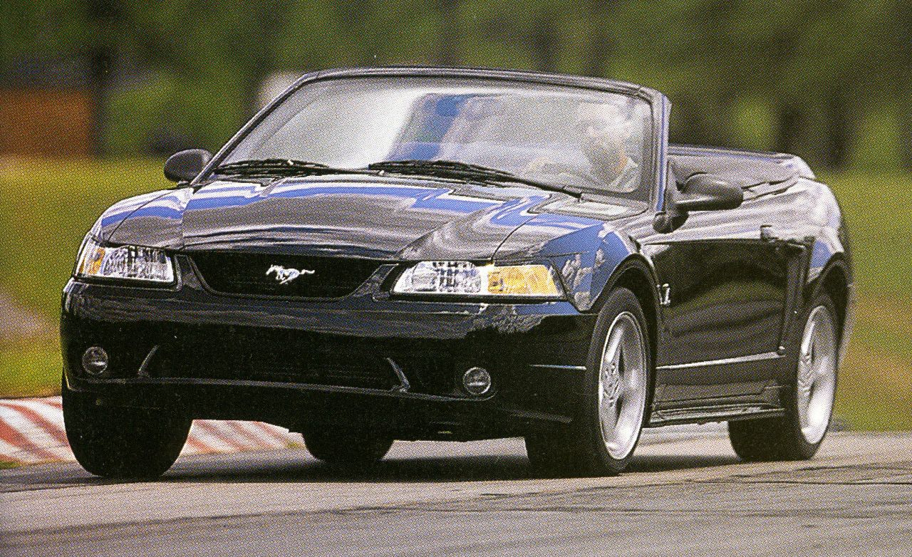 1996 ford mustang gt archived instrumented test review car and driver