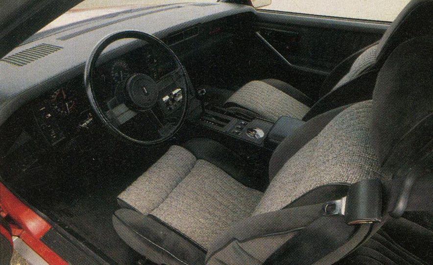 1982 Porsche 928, Chevrolet Camaro Z28, Pontiac Firebird Trans Am, Ford Mustang GT - Slide 4