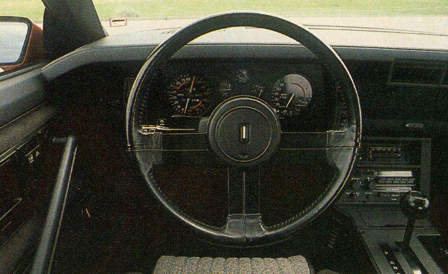 1982 Porsche 928, Chevrolet Camaro Z28, Pontiac Firebird Trans Am, Ford Mustang GT - Slide 5