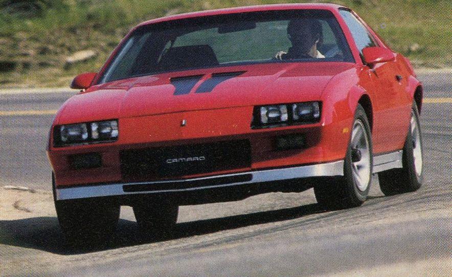 1982 Porsche 928, Chevrolet Camaro Z28, Pontiac Firebird Trans Am, Ford Mustang GT - Slide 2
