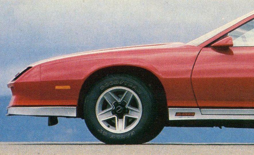 1982 Porsche 928, Chevrolet Camaro Z28, Pontiac Firebird Trans Am, Ford Mustang GT - Slide 3