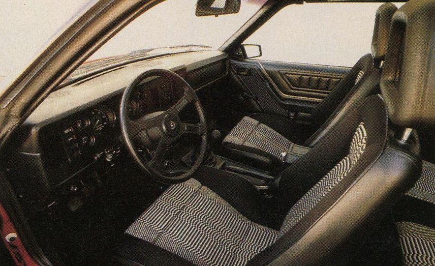 1982 Porsche 928, Chevrolet Camaro Z28, Pontiac Firebird Trans Am, Ford Mustang GT - Slide 8