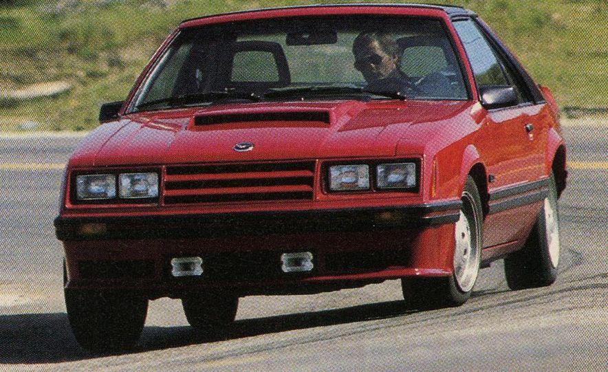 1982 Porsche 928, Chevrolet Camaro Z28, Pontiac Firebird Trans Am, Ford Mustang GT - Slide 6