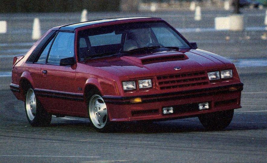 1982 Porsche 928, Chevrolet Camaro Z28, Pontiac Firebird Trans Am, Ford Mustang GT - Slide 7