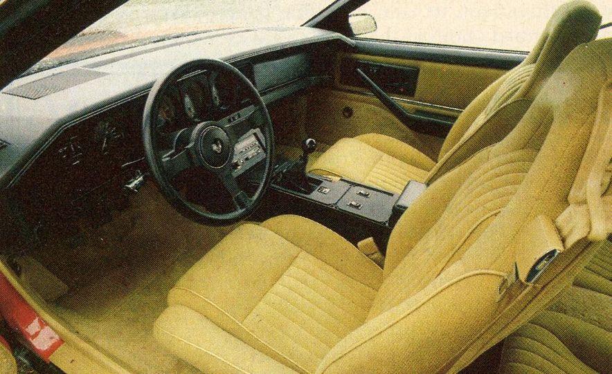 1982 Porsche 928, Chevrolet Camaro Z28, Pontiac Firebird Trans Am, Ford Mustang GT - Slide 12