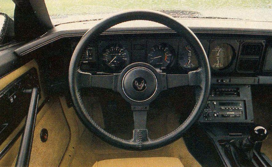 1982 Porsche 928, Chevrolet Camaro Z28, Pontiac Firebird Trans Am, Ford Mustang GT - Slide 13