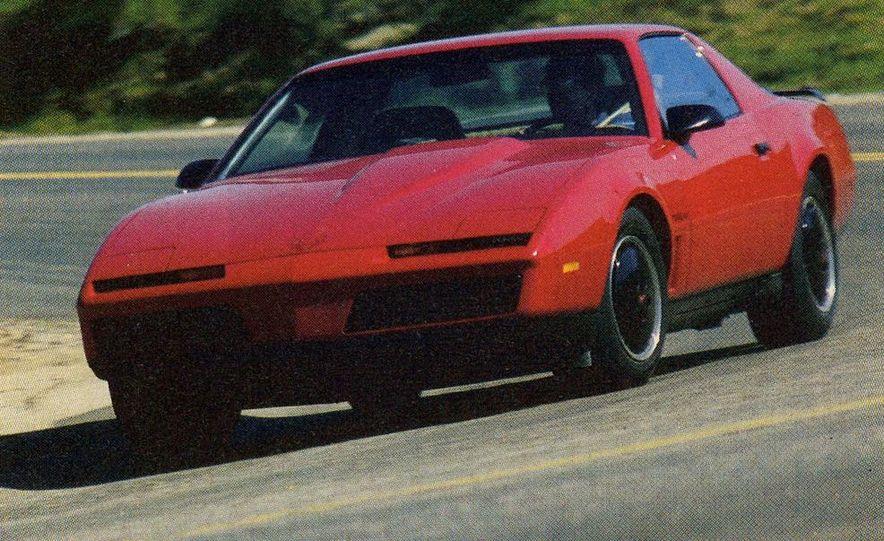 1982 Porsche 928, Chevrolet Camaro Z28, Pontiac Firebird Trans Am, Ford Mustang GT - Slide 10