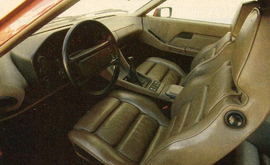 1982 Porsche 928, Chevrolet Camaro Z28, Pontiac Firebird Trans Am, Ford Mustang GT - Slide 15
