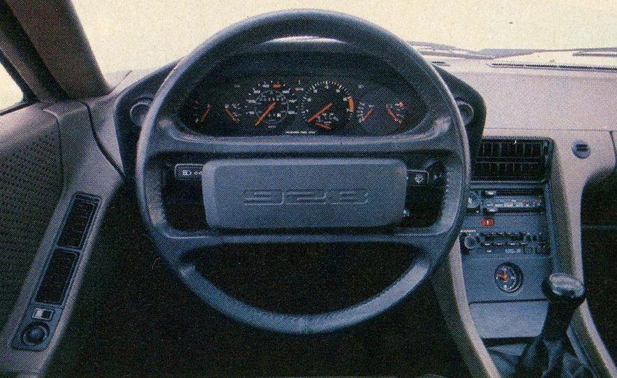 1982 Porsche 928, Chevrolet Camaro Z28, Pontiac Firebird Trans Am, Ford Mustang GT - Slide 16