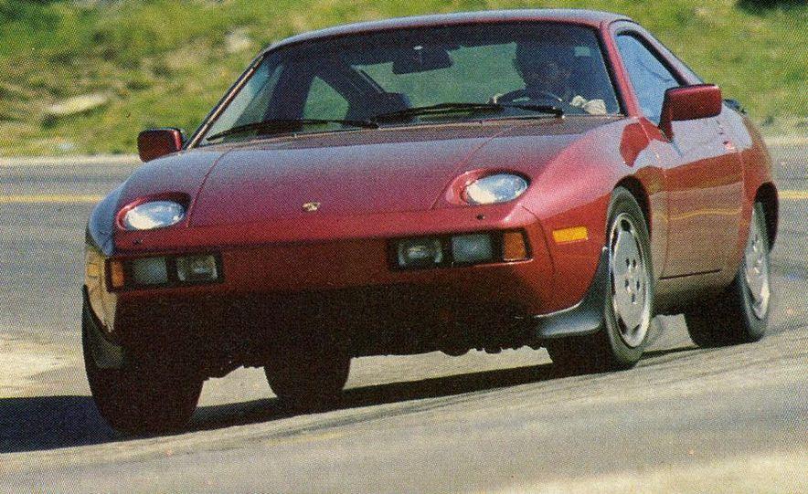 1982 Porsche 928, Chevrolet Camaro Z28, Pontiac Firebird Trans Am, Ford Mustang GT - Slide 14