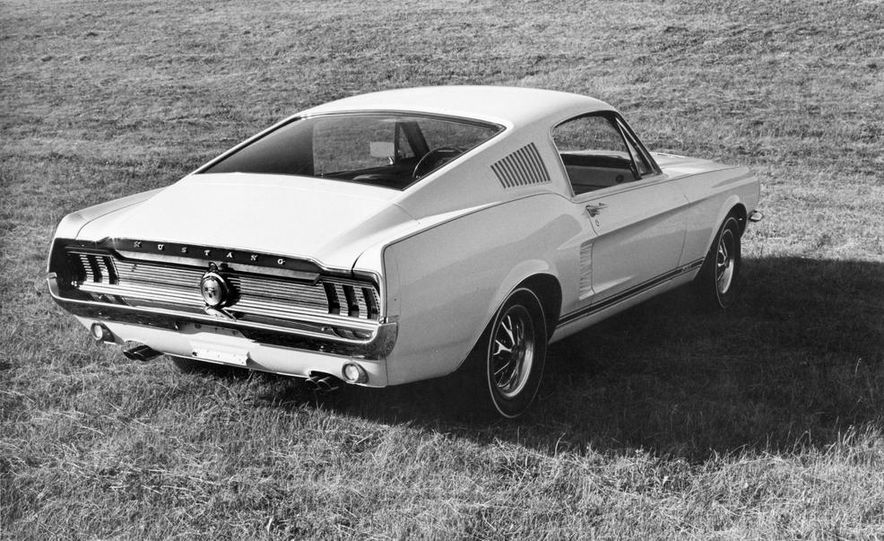 1967 Ford Mustang GT Automatic - Slide 5
