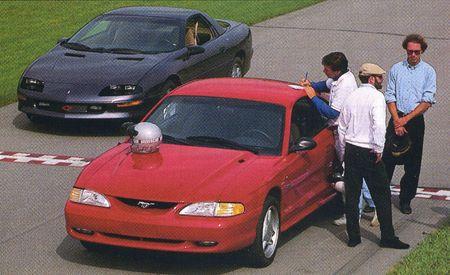 1994 Ford Mustang GT vs. 1994 Chevrolet Camaro Z28