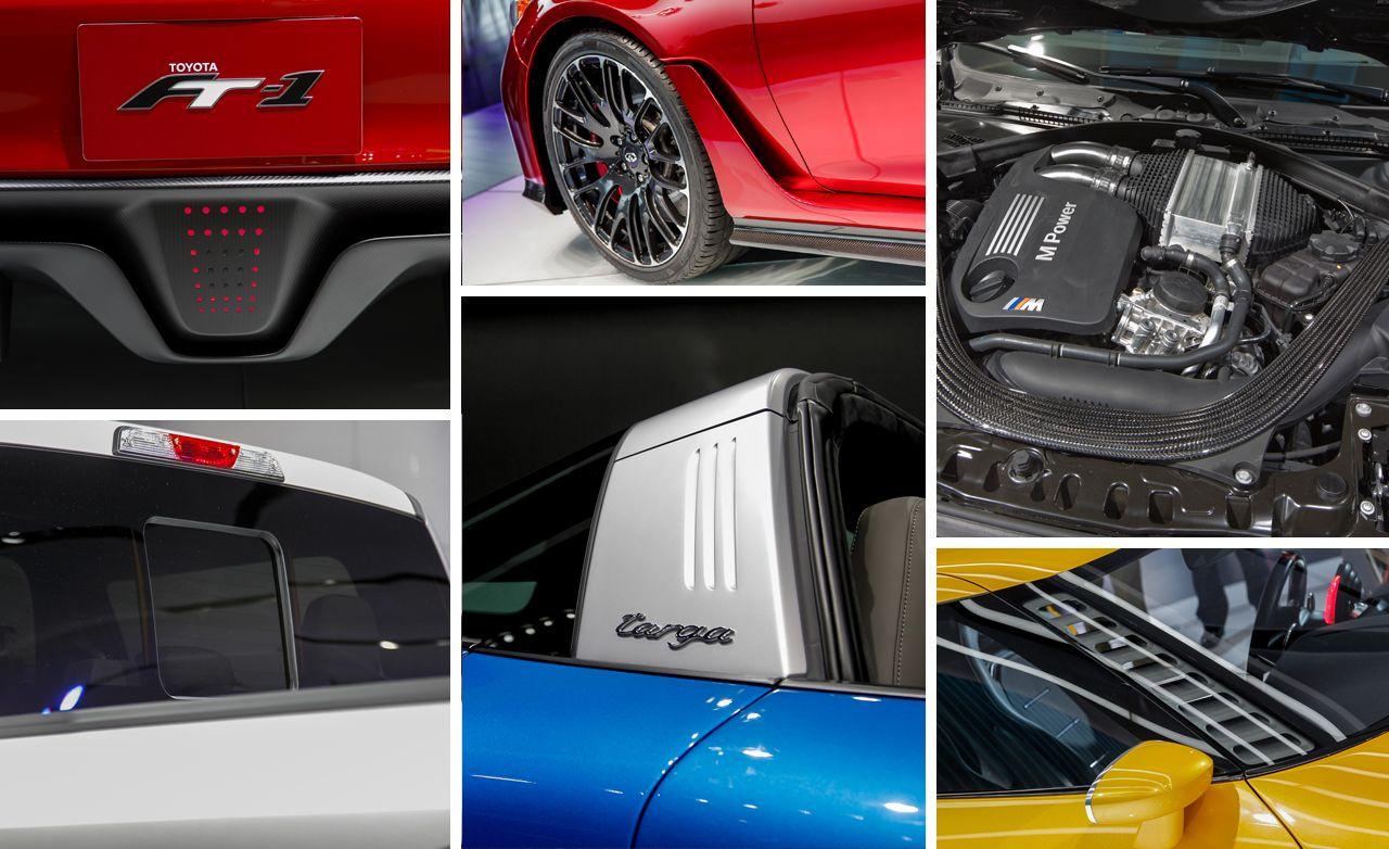 2014 Detroit Auto Show: 10 Coolest Design Details You Don't Want to Miss