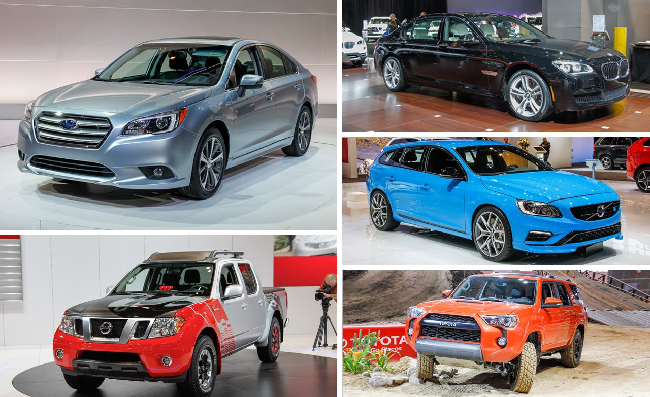 5 Hottest Debuts of the 2014 Chicago Auto Show
