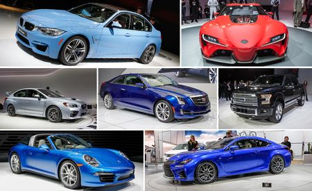 The 12 Hottest Debuts of the 2014 Detroit Auto Show