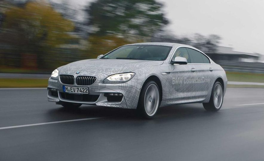 BMW M235i prototype and 6-series Gran Coupe ConnectedDrive - Slide 9