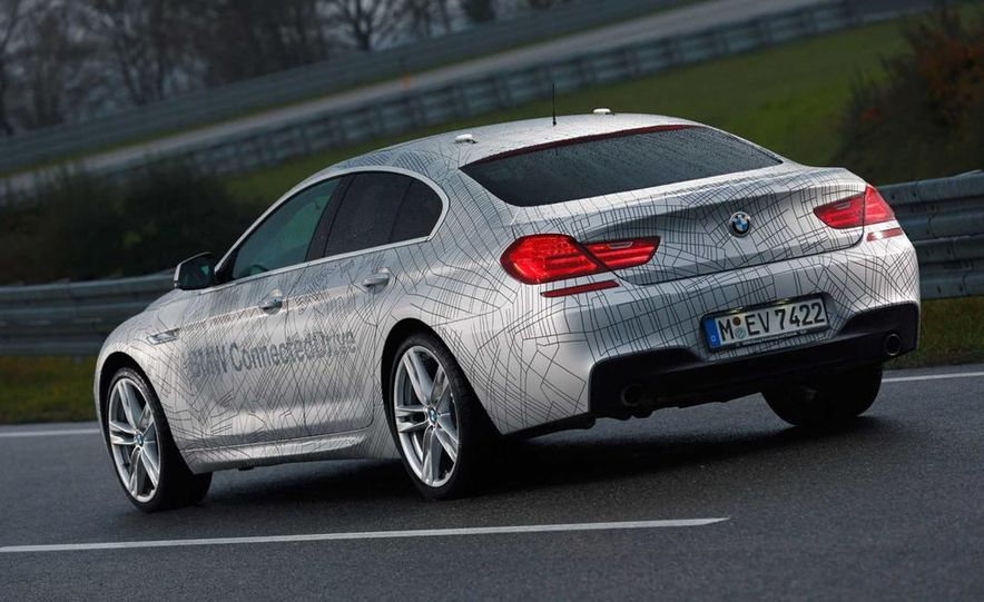 BMW M235i prototype and 6-series Gran Coupe ConnectedDrive - Slide 11