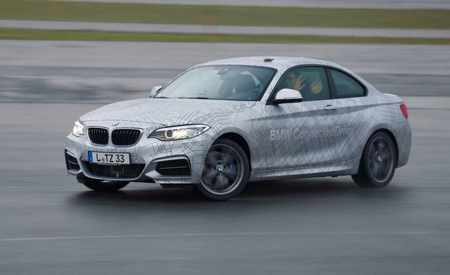 BMW M235i prototype and 6-series Gran Coupe ConnectedDrive - Slide 2
