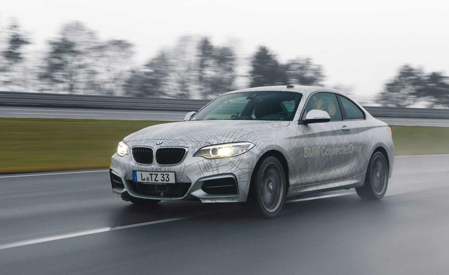BMW M235i prototype and 6-series Gran Coupe ConnectedDrive - Slide 3