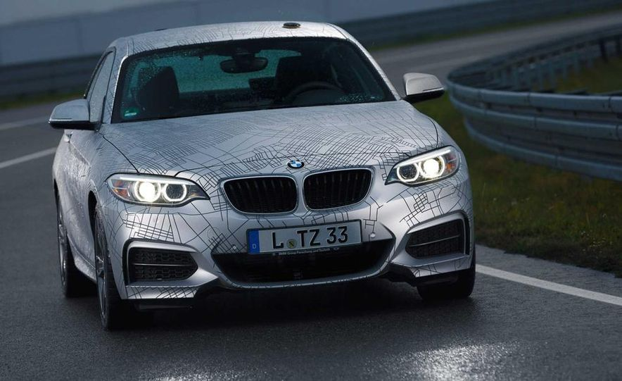 BMW M235i prototype and 6-series Gran Coupe ConnectedDrive - Slide 4