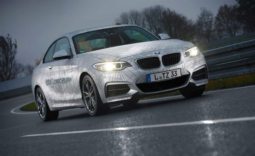 BMW M235i prototype and 6-series Gran Coupe ConnectedDrive - Slide 5