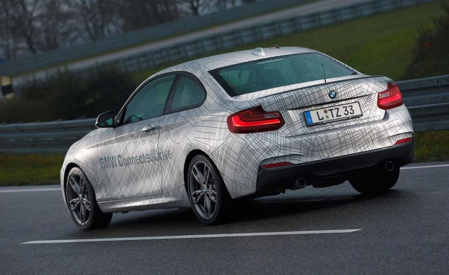 BMW M235i prototype and 6-series Gran Coupe ConnectedDrive - Slide 7