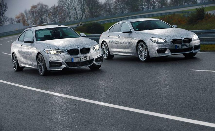 BMW M235i prototype and 6-series Gran Coupe ConnectedDrive - Slide 1