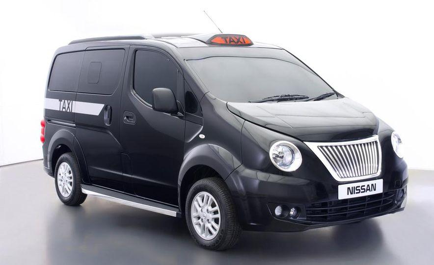 Nissan NV200 1.6L taxi for London - Slide 1