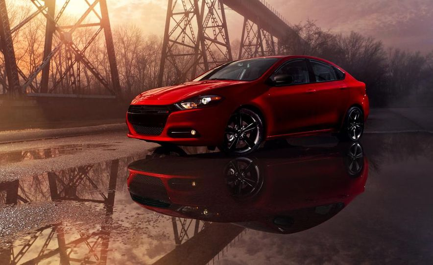 2014 Dodge Dart Blacktop - Slide 14