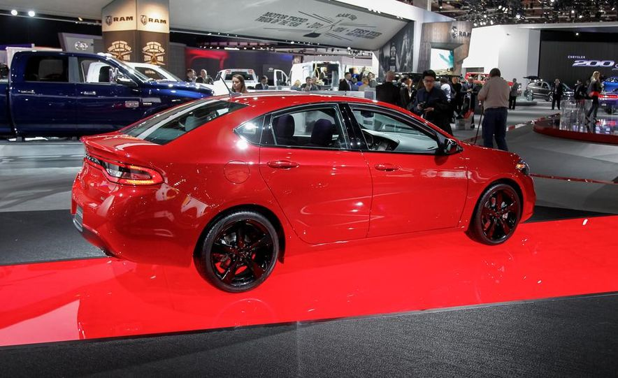 2014 Dodge Dart Blacktop - Slide 3