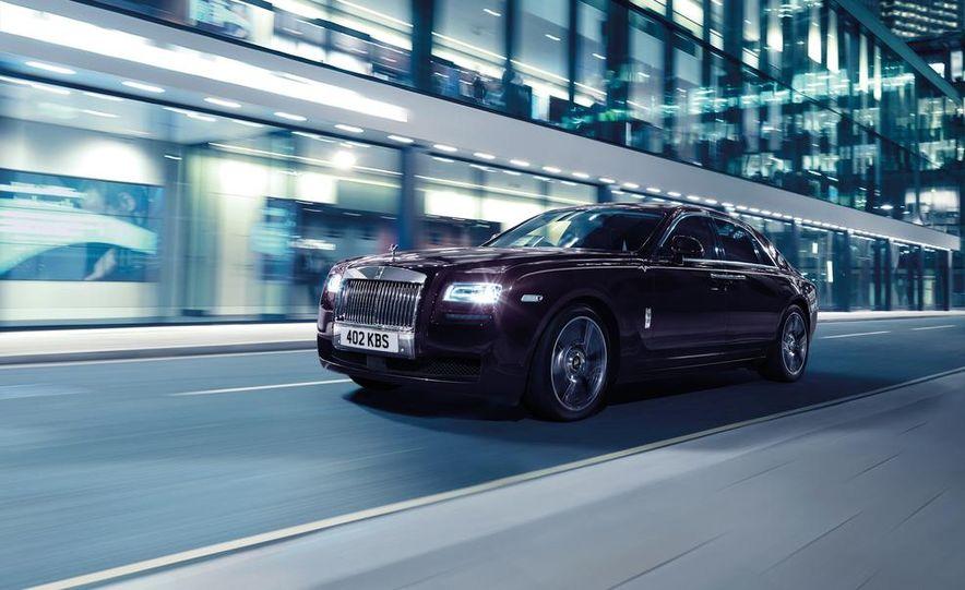 Rolls-Royce Ghost V-Specification - Slide 1