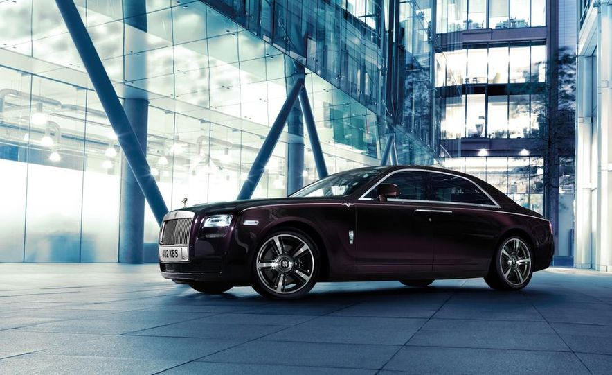 Rolls-Royce Ghost V-Specification - Slide 3