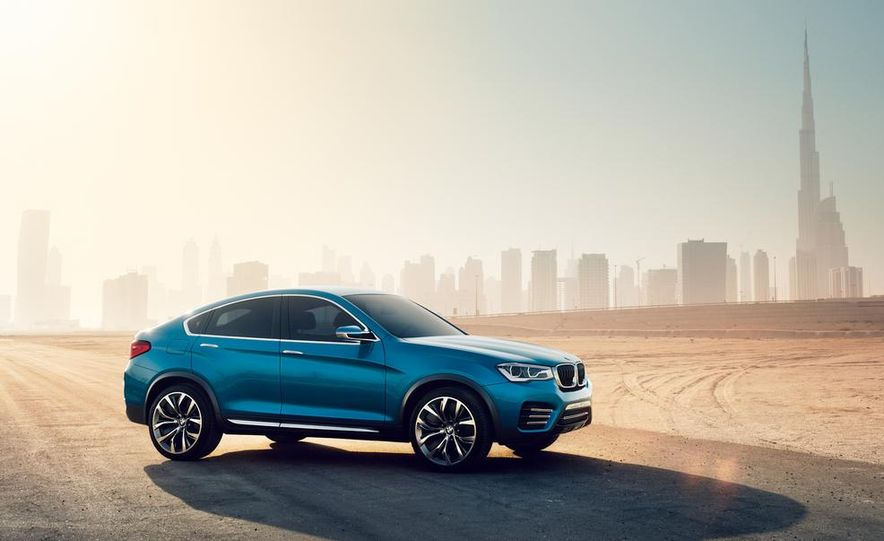 BMW X4 concept - Slide 21