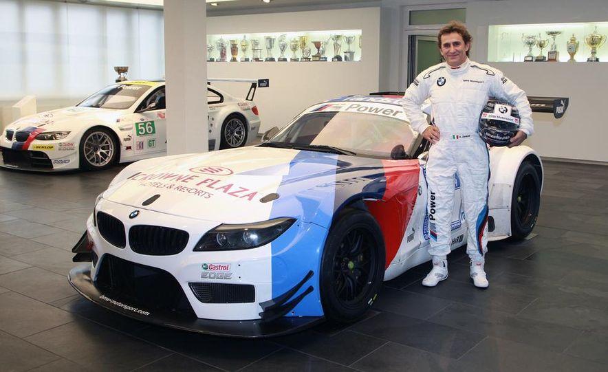 Alex Zanardi with the BMW Z4 GT3 - Slide 1
