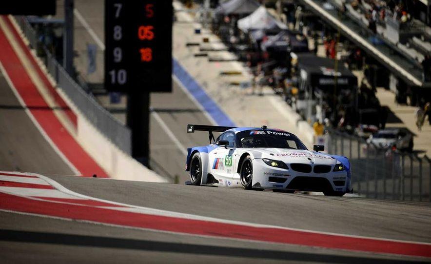 Alex Zanardi with the BMW Z4 GT3 - Slide 10
