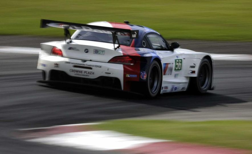 Alex Zanardi with the BMW Z4 GT3 - Slide 22