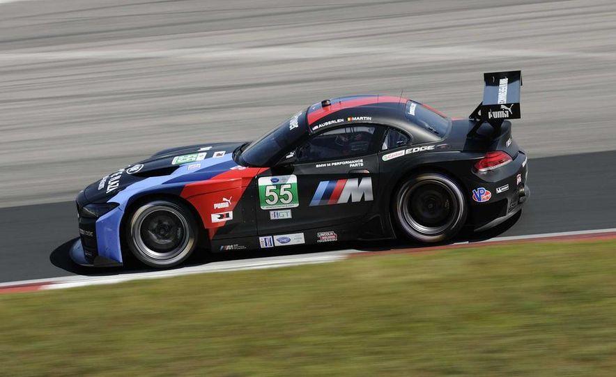 Alex Zanardi with the BMW Z4 GT3 - Slide 29