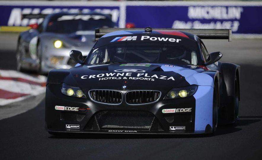 Alex Zanardi with the BMW Z4 GT3 - Slide 32
