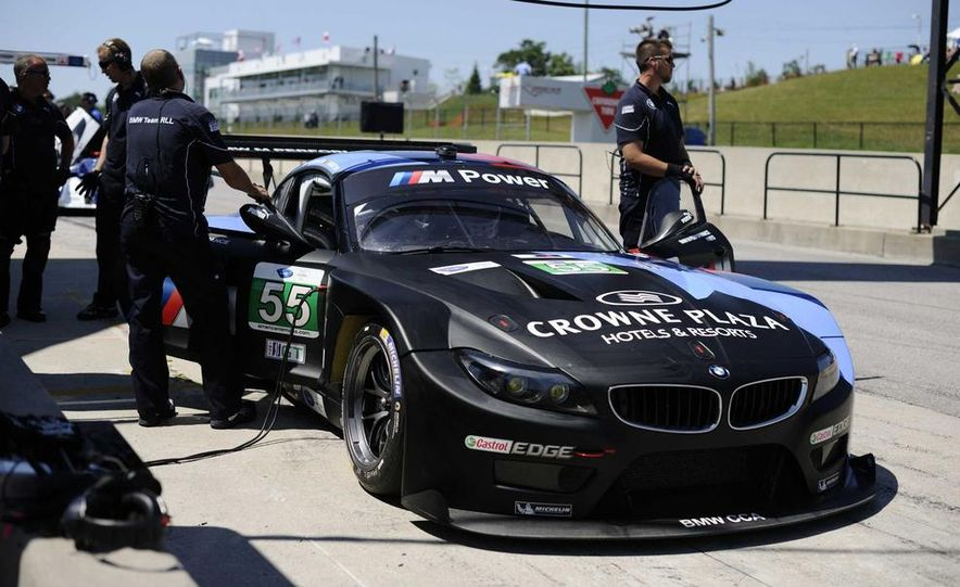 Alex Zanardi with the BMW Z4 GT3 - Slide 36