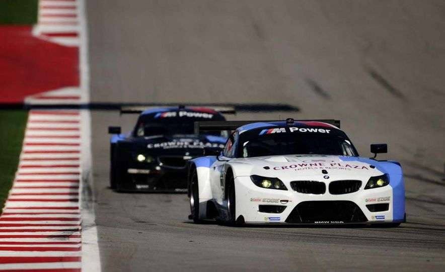 Alex Zanardi with the BMW Z4 GT3 - Slide 2