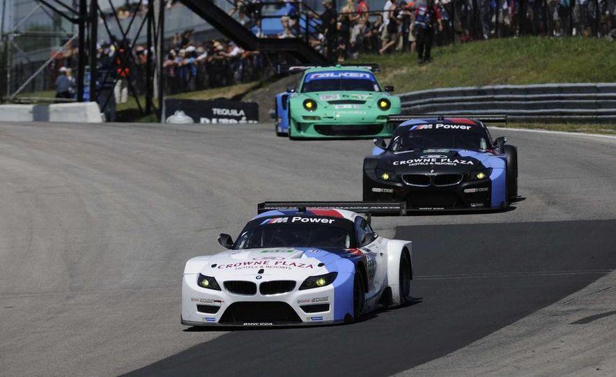 Alex Zanardi with the BMW Z4 GT3 - Slide 3