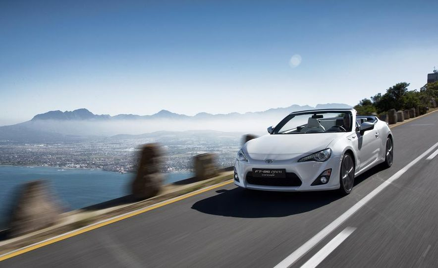 Toyota FT-86 Open concept - Slide 1