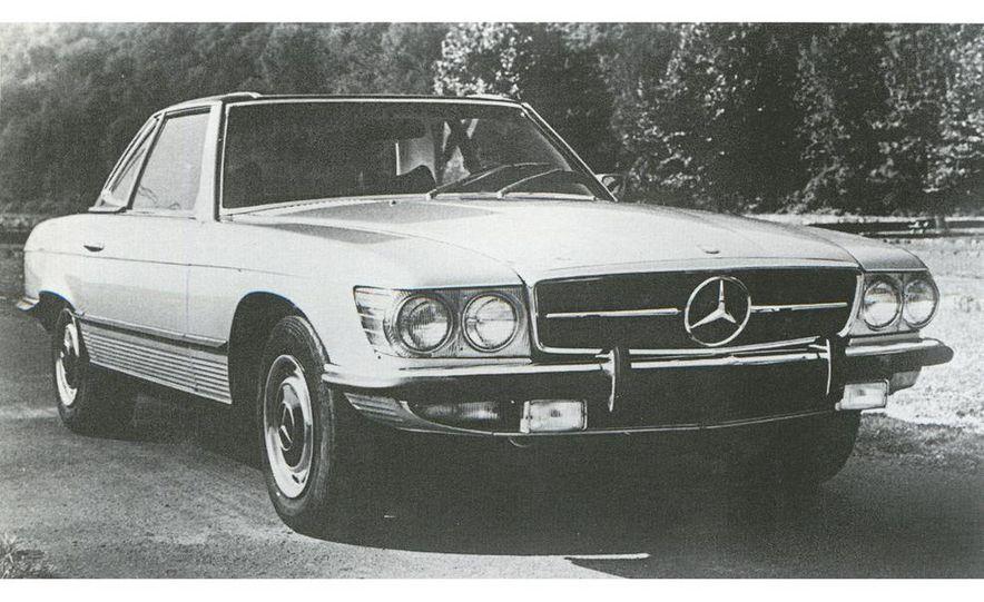 1972 Mercedes-Benz 350SL 4.5 - Slide 1